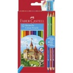 Faber Castell Colouring Pencils (12)
