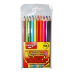 Colouring Jumbo Pencils (10PK)