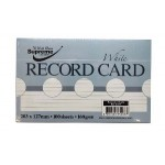 Record Cards 8x5